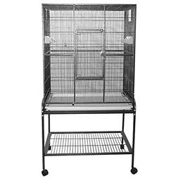 A&E CAGE COMPANY 001035 Flight Burgundy Bird Cage with Stand