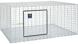 """1 PET LODGE 30""""X36"""" WIRE RABBIT CAGE HUTCH HOUSE MEAT PET IN"""