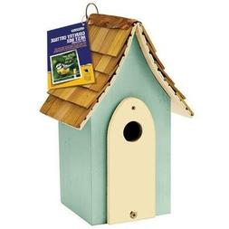 1 - Country Cottage Nest Box Green