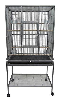 "YML 1/2"" Bar Spacing Aviary Cage 30L""x19W""x61H"", In Antique"