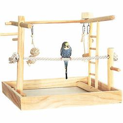 "You & Me 3-in-1 Playground for Birds, 15"" L X 15"" W X 16"" H,"