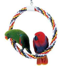 Booda 1 Ring Swing N-Feet Perch for Birds, Large