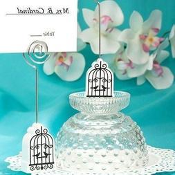 100 Elegant birdcage place card holder Wedding Shower Favors