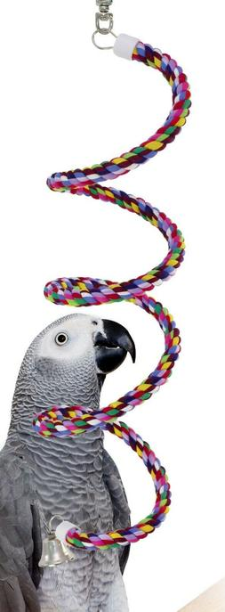 1041 Medium Rope Boing swing bird toy parrot cage toys cages