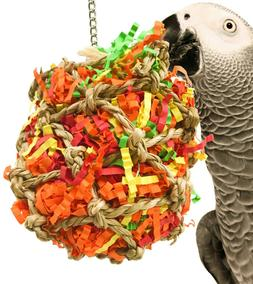 1889 Small Calypso Shredder Ball Bird Toy cages foraging toy
