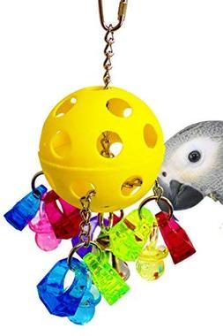 Bonka Bird Toys 1938 Paci-Pull Bird Toy parrot cage toys cag
