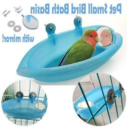 pet bird water bathtub for cage hanging
