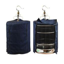 1PC Universal Bird Cage Cover Lightproof Cylindrical Cage Su