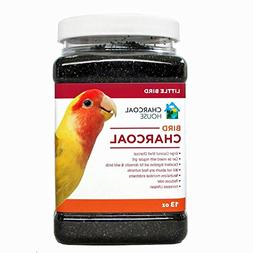 1qt Bird charcoal For Small Birds - Activated charcoal granu