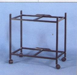 "2-Shelf Stand for two of 24"" x 16"" x 16"" Breeding Flight Cag"