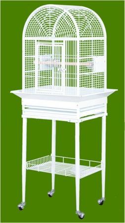 HQ 21816bk Dome Top Bird Cage - Black