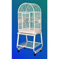 HQ 22217Cbk Dome Top Bird Cage - Black