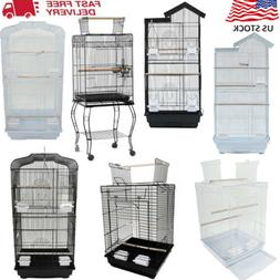 "23""37"" 39"" 57"" Pet Bird Cage Hanging Parrot Aviary Canary Bu"