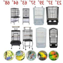 "23""37"" 57"" 39"" 63"" 64"" 68""Small Large Bird Cage Parrot Cages"