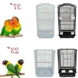 "23""37"" Large Tall Bird Parrot Cage Canary Parakeet Finch Bir"