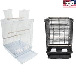 """23"""" Bird Parrot Cage Canary Parakeet Cockatiel Finch Cage wi"""