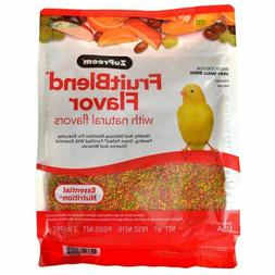 Zupreem 230300 Fruitblend X-Small Canary/Finch Food, 2-Pound