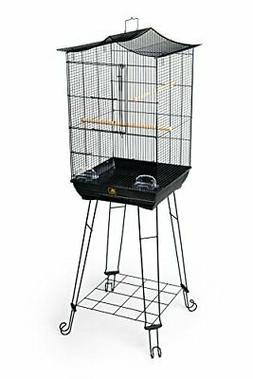 Prevue Pet Products 262 Penthouse Suites Crown Roof Cage wit
