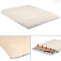 2EBC 60*45cm Dog Blanket Puppy Cushion Heating Practical Sel