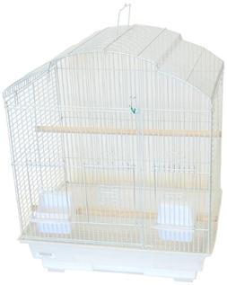 YML 3/8-Inch Bar Spacing ShellTop Small Bird Cage, 18-Inch b