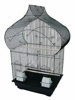 YML 3/8-Inch Bar Spacing Taj Mahal Bird Cage 18-Inch by 14-I