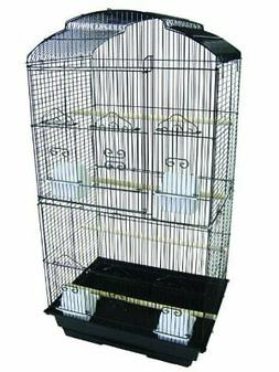 YML 3/8-Inch Bar Spacing Tall Shell Top Bird Cage, 18-Inch b