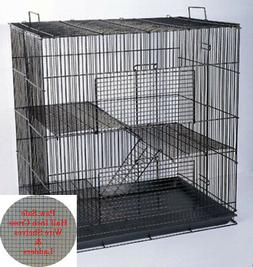 "3 Story 20"" Chinchilla Guinea Pig Hamster Ferret Animal Rat"