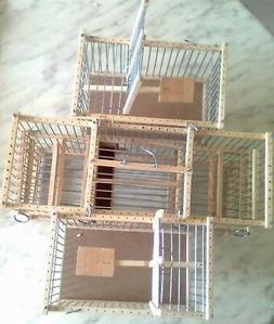 3 Trap Cages :  Lot : : Double Balance and  two Small for  B