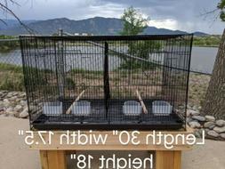 """30"""" Large Aviary Breeding Bird Finches Aviary Canary Flight"""