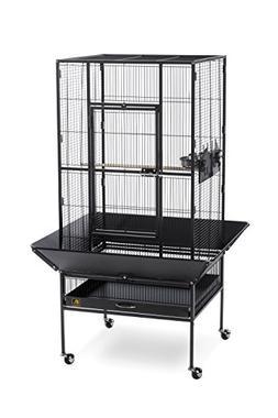 Prevue Pet Products 3352BLK Park Plaza Bird Cage, Black Hamm