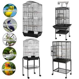 "36''53""60""Large Bird Cage Play Top Parrot Finch Cage Cockato"