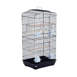 Pawhut 36 Bird Cage - Black