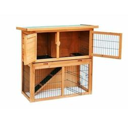 "36"" Outdoor Rabbit Hutch Chicken Coop Small Animal House Woo"