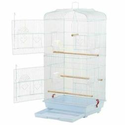 "Yaheetech 36"" Portable Size Medium Hanging Bird Cage for Sma"