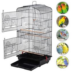 Yaheetech 36'' Medium Size Quaker Parrot Bird Cage Cockatiel