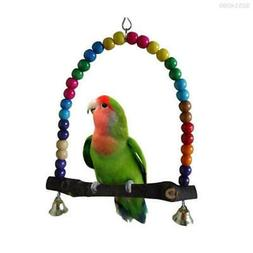 368E Swing Bird Toy Parrot Cage Toys Finch Parakeet Lovebird