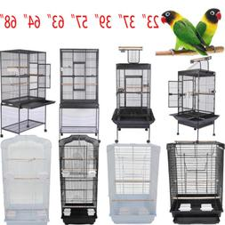 """37"""" 57"""" 39"""" 63"""" 68""""Small Large Bird Iron Cage Play Parrot Ma"""