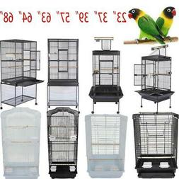 "37"" 57"" 39"" 63"" 68""Small Large Bird Iron Cage Play Parrot Ma"