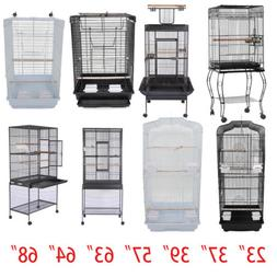 "37"" 57"" 39"" 63"" 68""Small Large Bird Cage Play Parrot Cage An"