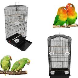 "37"" Bird Parrot Cage Cages Canary Parakeet CockatielFinch Bi"
