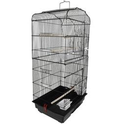 "37 ""bird parrot cage Canary love bird finch cage with wooden"