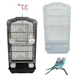 "37"" Bird Parrot Cage Canary Parakeet Cockatiel Finch Cage 2"