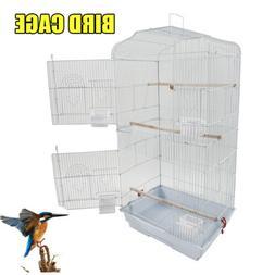 "37""  Iron Cage Small Bird Parrot Portable Top Cockatiel Pet"
