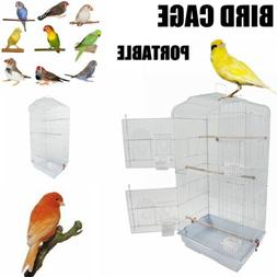 """37"""" Large Tall Bird Parrot Cage Canary Parakeet Budgie Finch"""