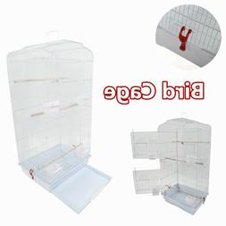 """37"""" Pet Bird Cage Hanging Parrot Aviary Canary Finch Portabl"""