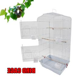 "37"" Pet Bird Cage Hanging Parrot Aviary Canary Budgie Finch"