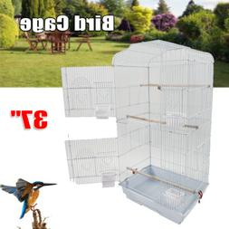 "37"" Portable Bird Cage For Parrot Canary Parakeet Cockatiel"