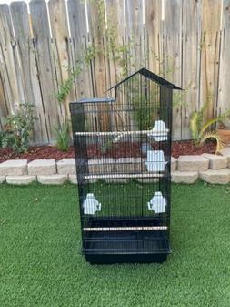 """39"""" Bird Parrot Cage Canary Parakeet Cockatiel LoveBird Fi"""