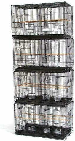 Seny 4 Breeding Bird Carrier Cage with Dividor for Parakeet