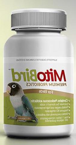 40 MitoBird Premium Probiotics bird parrot cage toy digestiv